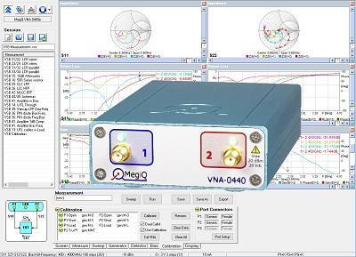 VNA-0440 - 4GHz, 2-port Vector Network Analyzer